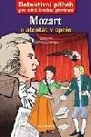 Mozart a atentát v opeře obálka knihy