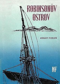 Robinsonův ostrov obálka knihy