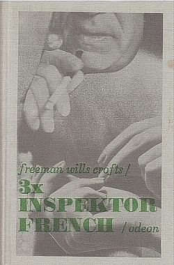 3x inspektor French obálka knihy