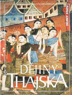 Dějiny Thajska obálka knihy