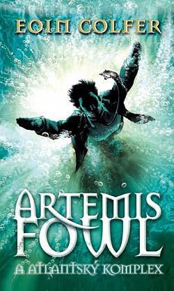 Artemis Fowl a atlantský komplex obálka knihy