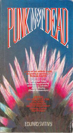 Punk not dead obálka knihy