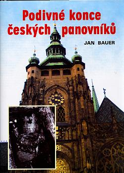 Podivné konce českých panovníků obálka knihy