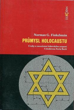 Průmysl holocaustu obálka knihy