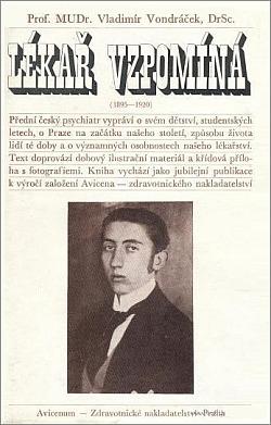 Lékař vzpomíná (1895–1920) obálka knihy