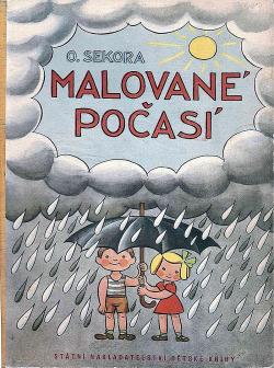Malované počasí obálka knihy