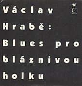 Blues pro bláznivou holku obálka knihy