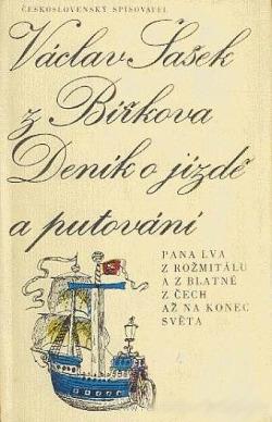 Deník o jízdě a putování pana Lva z Rožmitálu a z Blatné z Čech až na konec světa obálka knihy