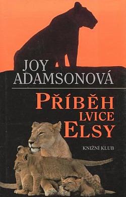 Příběh lvice Elsy obálka knihy