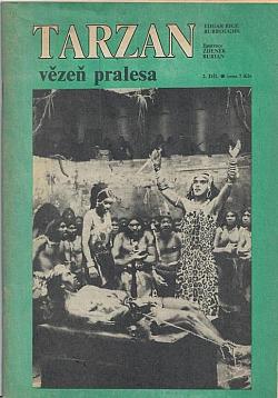 Tarzan, vězeň pralesa obálka knihy