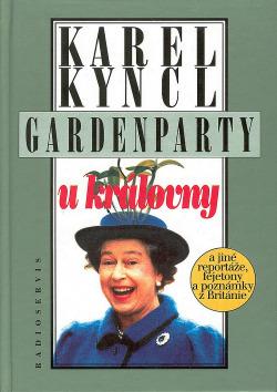 Gardenparty u královny obálka knihy