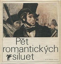 Pět romantických siluet obálka knihy