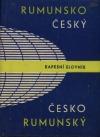 Rumunsko - český a česko - rumunský kapesní slovník obálka knihy