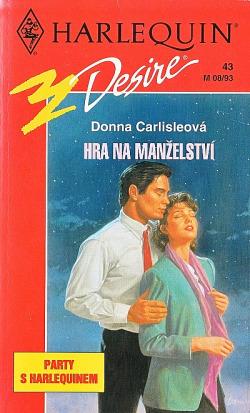 Hra na manželství obálka knihy