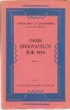Deník spisovatelův. Rok 1876. Díl II.