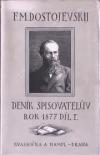 Deník spisovatelův. Rok 1877. Díl I.