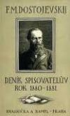 Deník spisovatelův. Rok 1880-1881