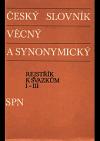 Český slovník věcný a synonymický 4