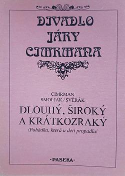 Dlouhý, Široký a Krátkozraký obálka knihy