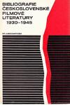 Bibliografie československé filmové literatury 1930-1945