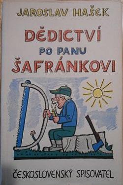 Dědictví po panu Šafránkovi obálka knihy