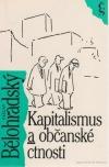 Kapitalismus a občanské ctnosti obálka knihy