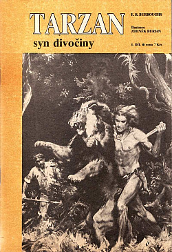 Tarzan syn divočiny obálka knihy