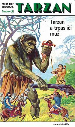 Tarzan a trpasličí muži obálka knihy