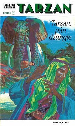 Tarzan, pán džungle obálka knihy