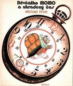 Děvčátko Momo a ukradený čas obálka knihy