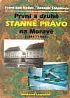 První a druhé stanné právo na Moravě