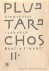 Životopisy slavných Řeků a Římanů II. obálka knihy