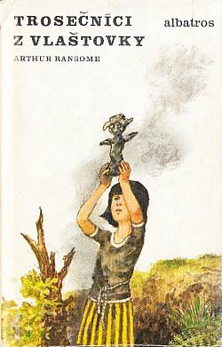 Trosečníci z Vlaštovky obálka knihy