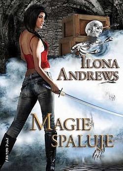 Magie spaluje obálka knihy