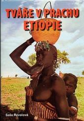 Tváře v prachu Etiopie obálka knihy