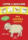 Ako zvieratká hovoria obálka knihy