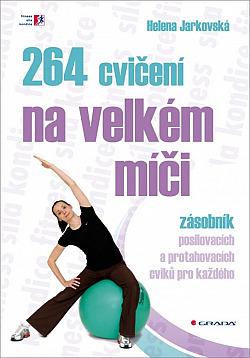 264 cvičení na velkém míči obálka knihy