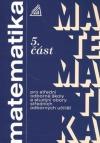 Matematika pro střední odborné školy a studijní obory středních odborných učilišť - 5. část obálka knihy