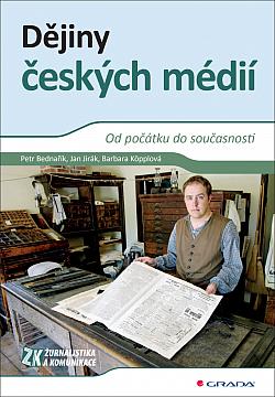 Dějiny českých médií obálka knihy