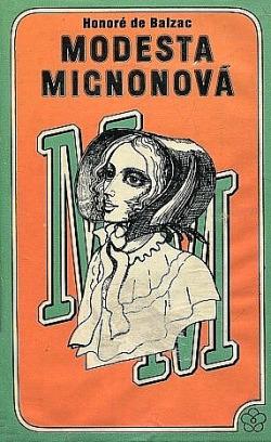 Modesta Mignonová obálka knihy