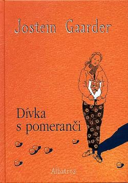 Dívka s pomeranči obálka knihy