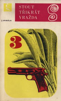Třikrát vražda obálka knihy