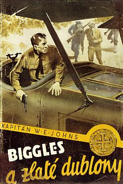Biggles a zlaté dublony obálka knihy