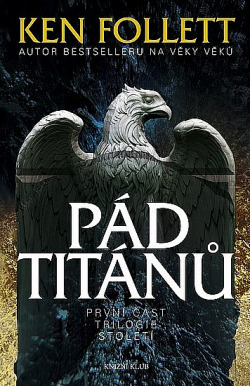 Pád titánů obálka knihy