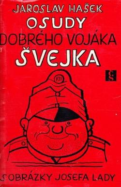 Osudy dobrého vojáka Švejka 3. a 4. díl obálka knihy