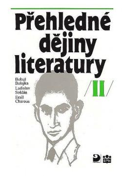 Přehledné dějiny literatury II obálka knihy