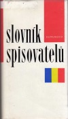 Slovník spisovatelů Rumunsko obálka knihy