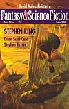 Fantasy & Science Fiction 2008 – Podzim
