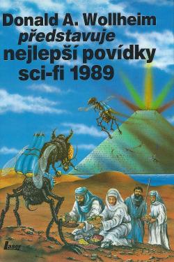 Donald A. Wollheim představuje nejlepší povídky sci-fi 1989 obálka knihy