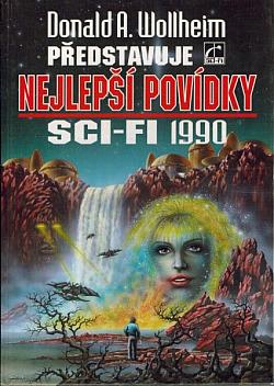 Donald A. Wollheim představuje nejlepší povídky sci-fi 1990 obálka knihy